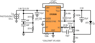 solutions ltc3536 solar powered led driver