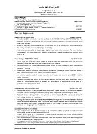 Hockey Resume Template Resume For Banking Industry Free Resume Example And Writing Download