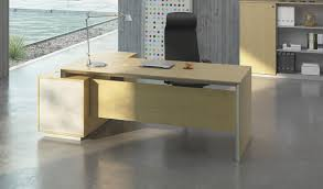 Furniture For Office Stylish Office Table With Side Cabinet Boss U0027s Cabin
