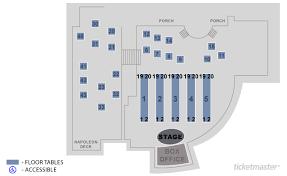 Ticketmaster Floor Plan House Of Blues Las Vegas Las Vegas Tickets Schedule Seating