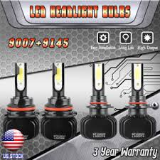 2002 jeep liberty fog lights hb5 9007 led headlight 9145 h10 fog light combo kit for jeep