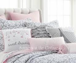 shabby chic bedding cottage pillows u0026 shams