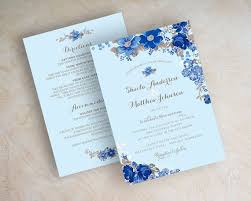 wedding invitations royal blue best 25 blue wedding invitations ideas on navy