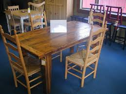 hand crafted reclaimed barnwood dining table by dan lane woodworks