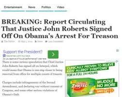 Arrest Warrant Vs Bench Warrant Did John Roberts Issue An Arrest Warrant For Barack Obama Over