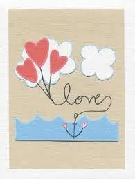 Items Similar To Love Anchors - je t aime i love you i love it like crazy pinterest