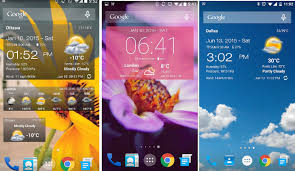 android widget top 6 best android weather widget app 2017