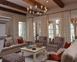 Colonial Primitive Living Room Houzz - Colonial living room design