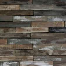 nuvelle deco planks weathered gray 1 2 in thick x 4 in wide x 24