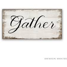 home decor wall signs gather sign wood wall art word art reclaimed wood sign farm