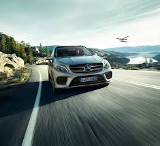 the new mercedes benz gle make the best of every ground