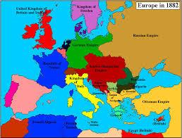 europe peninsulas map 1882label maps