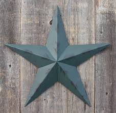 metal star home decor painted metal tin barn stars galvanized metal will not rust