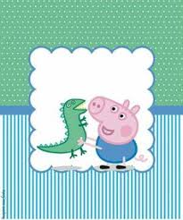 kit completo digital george pig dinossauro george pig party