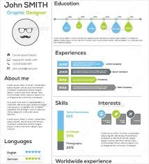 infographic resume builder 25 infographic resume templates free