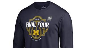 michigan wolverines fan gear michigan wolverines final four gear apparel 2018 heavy com