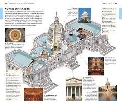 Capitol Hill Map Dk Eyewitness Travel Guide Washington D C Dk Publishing
