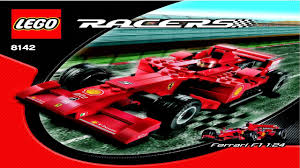ferrari f1 lego 8142 lego ferrari f1 instruction booklet youtube