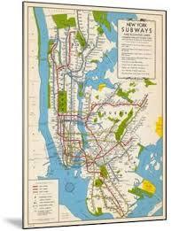 map of new york subway new york city subway posters at allposters