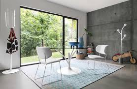 Japanese Style Flooring Dining Room Black Leather Chairs Hand Calligaris Allmodern