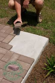 Cost Of Concrete Patio by Best 25 Pavers Over Concrete Ideas On Pinterest Paver Driveway