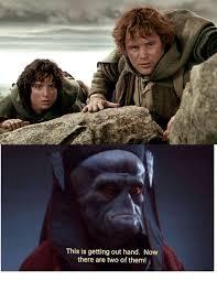 Hobbit Meme - when you laugh at the first hobbit meme on r prequelmemes cause it s