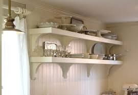 kitchen organizer farmhouse with open shelving kitchen country
