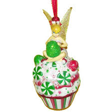 your wdw store disney ornament tinker bell cupcake