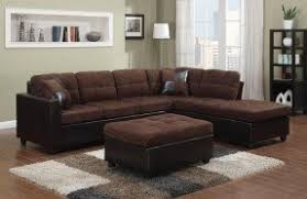 Microfiber Reversible Chaise Sectional Sofa Microfiber Chaise Sectional Foter