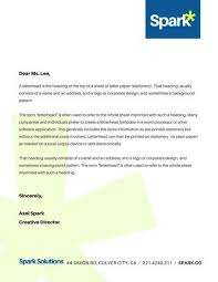 business letter heading template 45 free letterhead templates