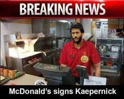 Kaepernick Memes - breaking news colin kaepernick signs with new team political