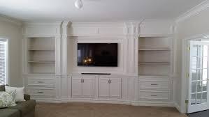 wall units extraordinary custom built ins custom living room