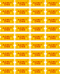 free printable admit one ticket template clipart best templates