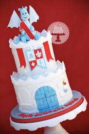 castle cake with a castle cake for a baby boy