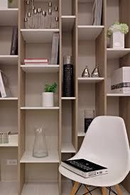 home office architecture designs of black wall shelves with cool