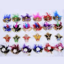 venetian home decor small feather venetian mask ornament itly mask fridge magnet tourist