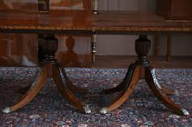 table excellent duncan phyfe dining room chairs with good 12 foot