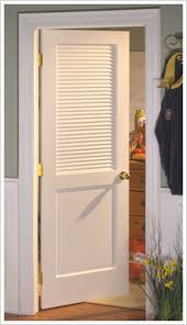 Louvered Closet Doors Interior The Attractive Louvered Interior Doors To Enhance The Of