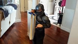 kids deluxe snake eyes costume child gi joe costumes ninja