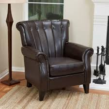 Leather Club Armchair Club Chairs Leather Living Room Chairs Shop The Best Deals For