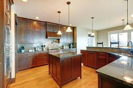 dark kitchen cabinets with light floors dark cabinets with light floors new ideas light wood floors in