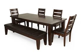 ashley larchmont six piece dining set mathis brothers furniture ashley larchmont six piece dining set