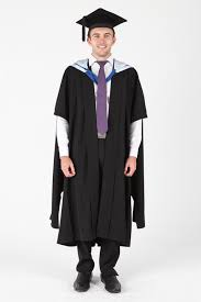master s cap and gown of canberra masters graduation gown set gowntown
