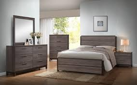 Baseball Bedroom Set 5 Piece Antique Grey Wood King Size Modern Bedroom Set Bed