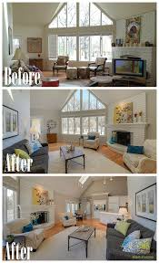 Staging Before And After by Home Staging Before And After Photos From West Chicago