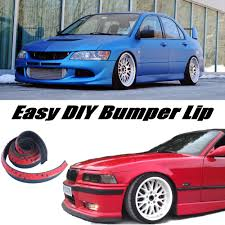 evo spoiler bumper lip lips for mitsubishi lancer evolution evo front skirt