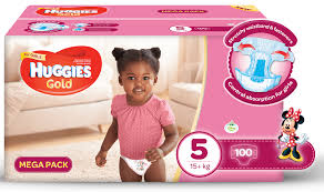 huggies gold huggies gold girl size 5 100 nappies buy online in south
