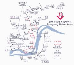 Metro North Map by Pyongyang Metro Map Pyongyang U2022 Mappery