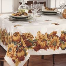 52 x 70 fall gatherings thanksgiving tablecloth