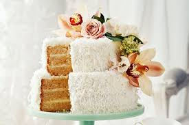 wedding cake recipes two tier coconut milk layer cake